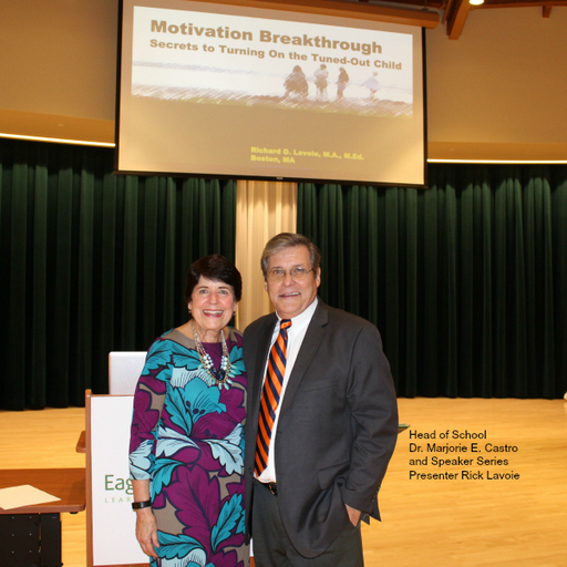 EAGLE HILL SCHOOL 2016-2017 SPEAKER SERIES DRAWS LARGE OPENING AUDIENCE